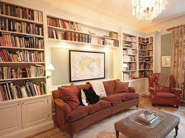 Platsbyggd bokhylla ritning u2013 Möbel för kök, sovrum